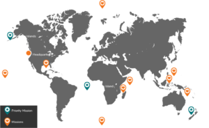 Missions map